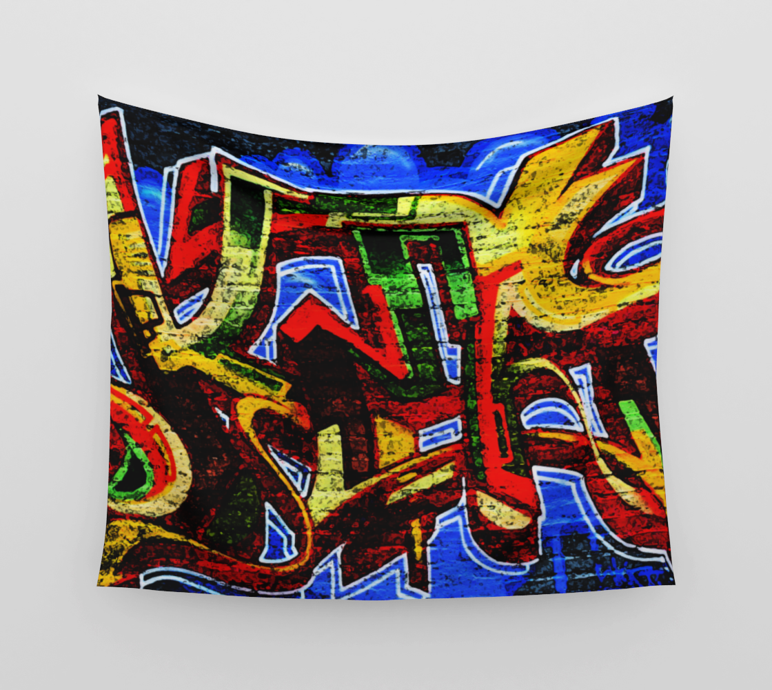 Graffiti 17 Wall Tapestry preview