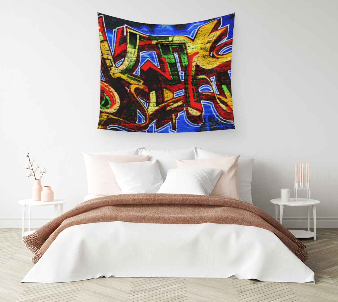 Graffiti 17 Wall Tapestry preview #1