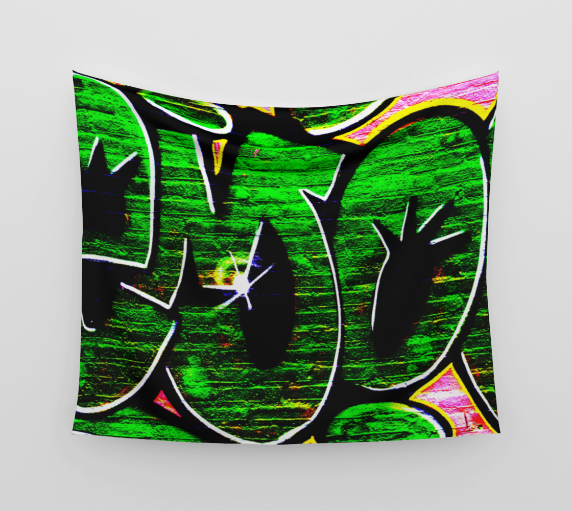 Graffiti 18 Wall Tapestry preview