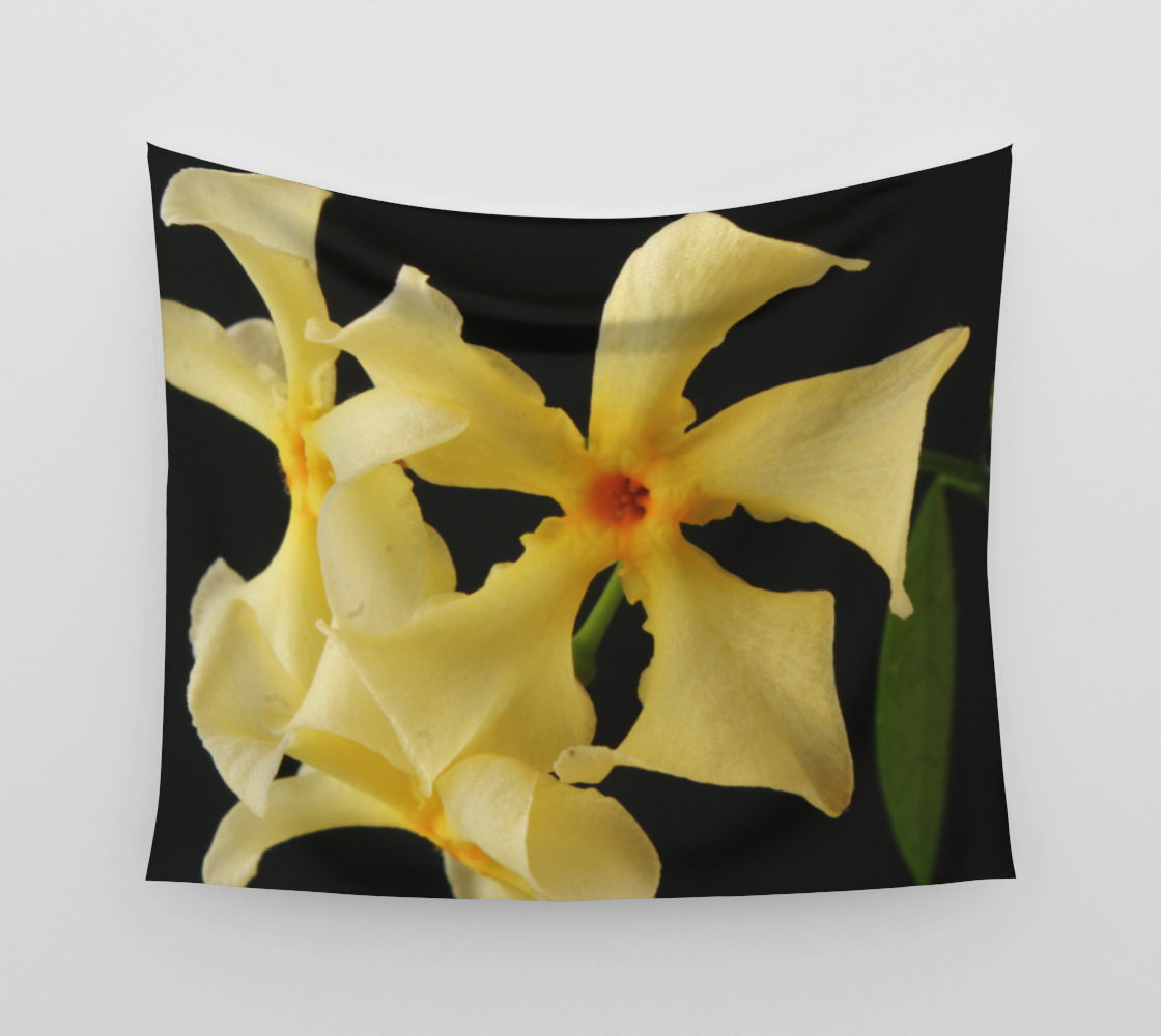 Star Jasmine Flower Wall Tapestry preview