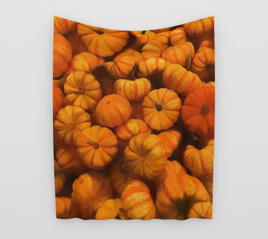 Aperçu de Mini Pumpkins Tapestry