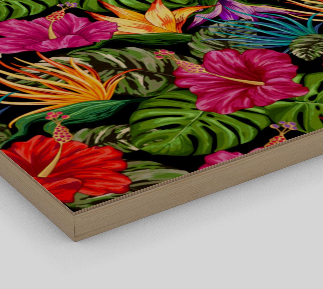 Aperçu de Tropical Flora Summer Mood Pattern #3