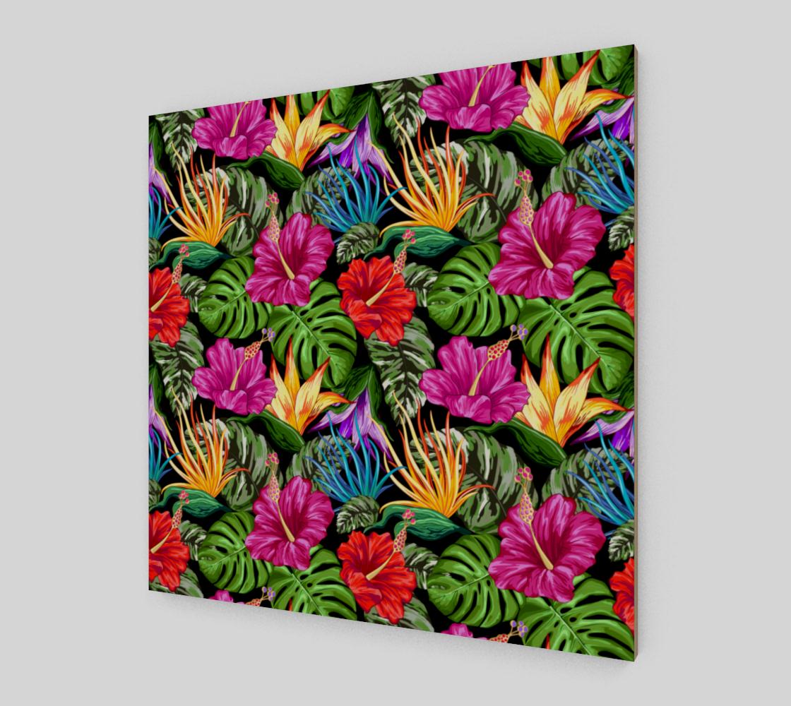 Aperçu de Tropical Flora Summer Mood Pattern #2