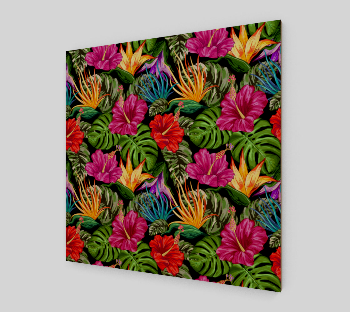 Tropical Flora Summer Mood Pattern preview