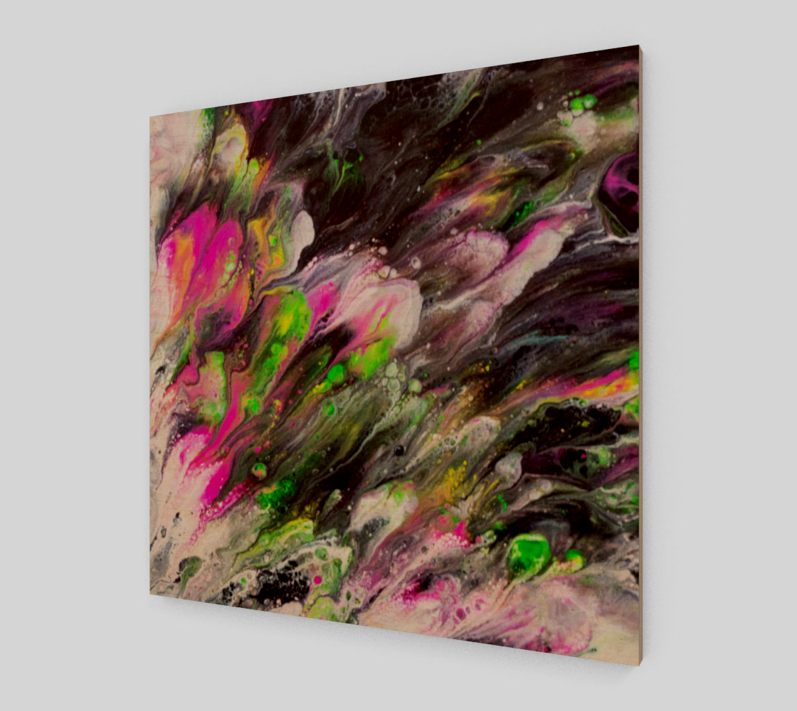 Abstract Spring Blooms Acrylic Art preview #1