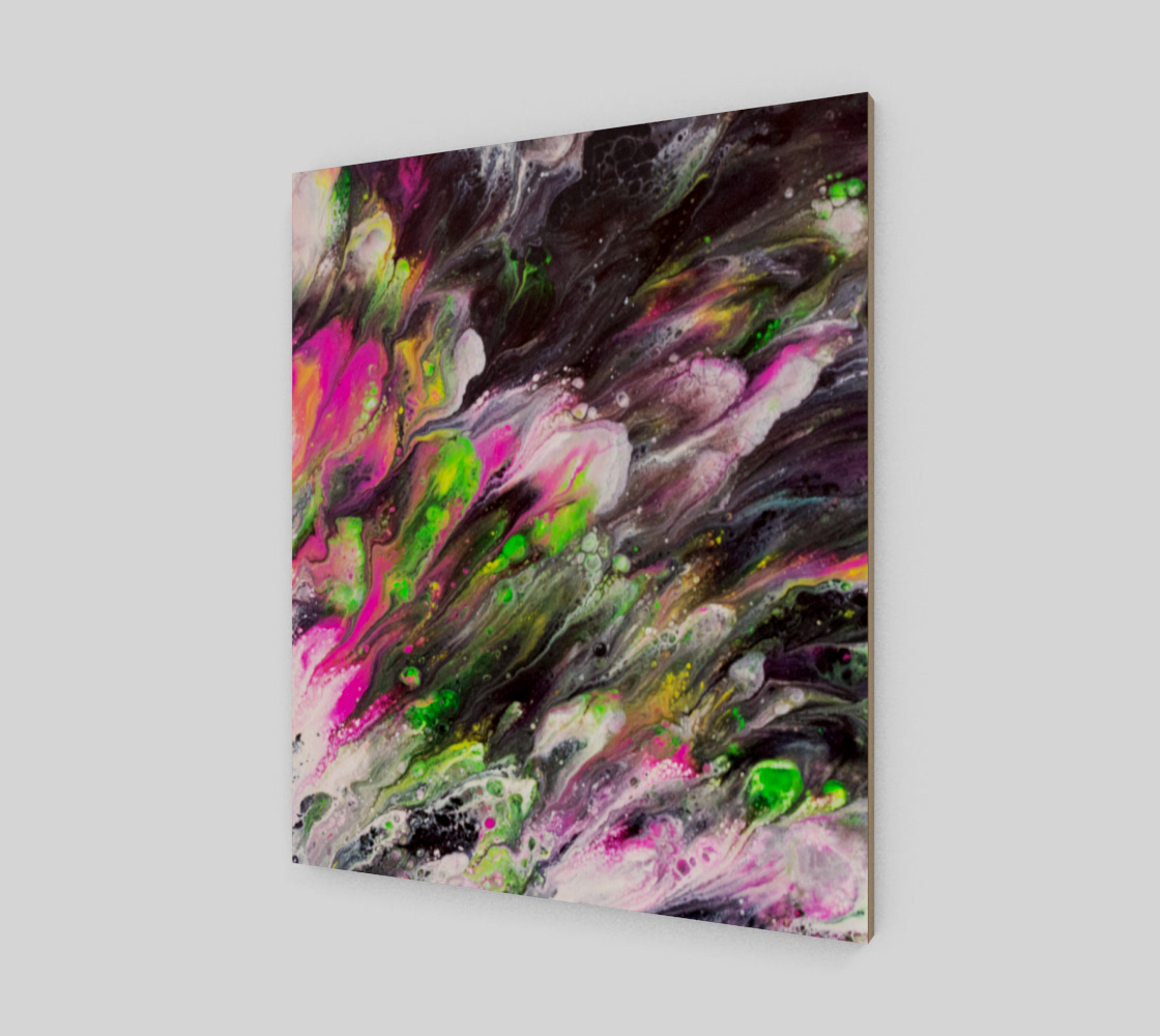 Abstract Spring Blooms Acrylic Art preview #2