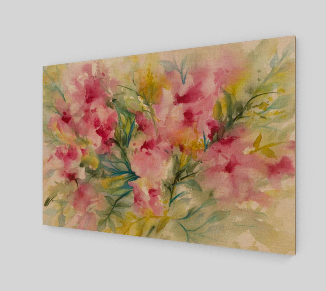 Aperçu de Pink Dreamy Floral Watercolor
