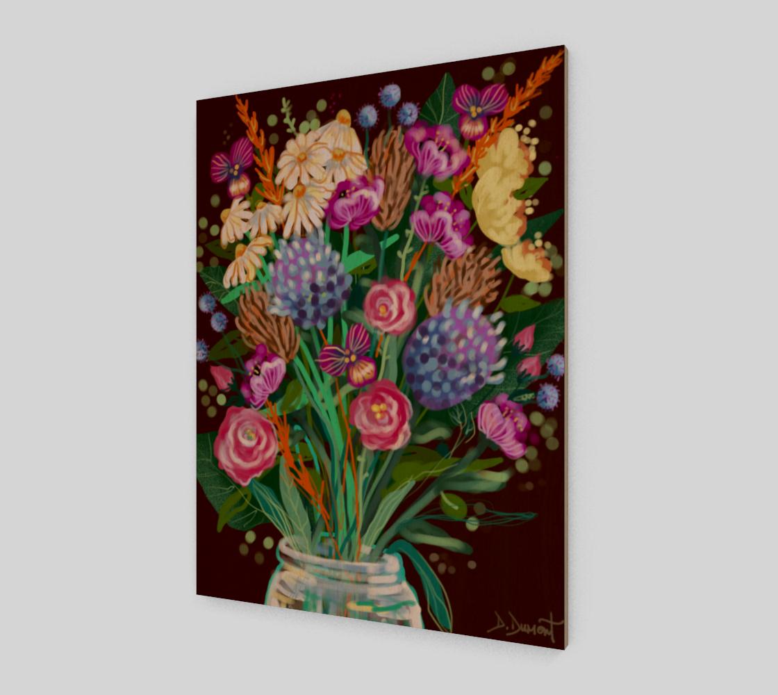 Affiche Fleurs de novembre  preview
