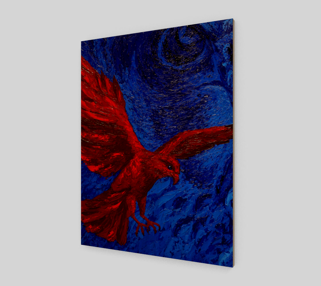 Red Peregrine Acrylic  preview
