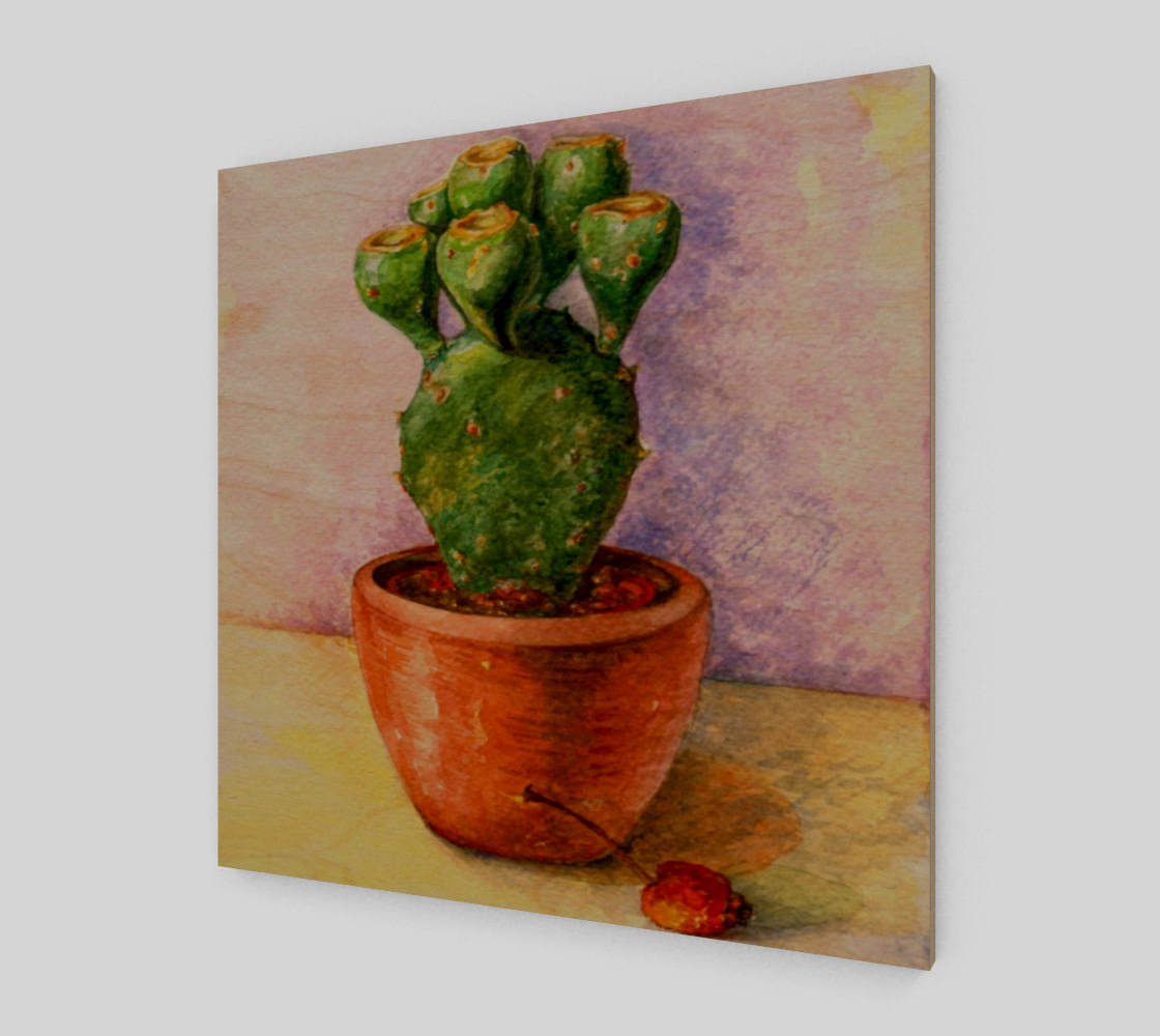 painted Cactus plant preview