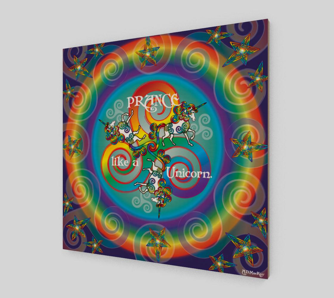 Celtic Unicorn Mandala preview #2