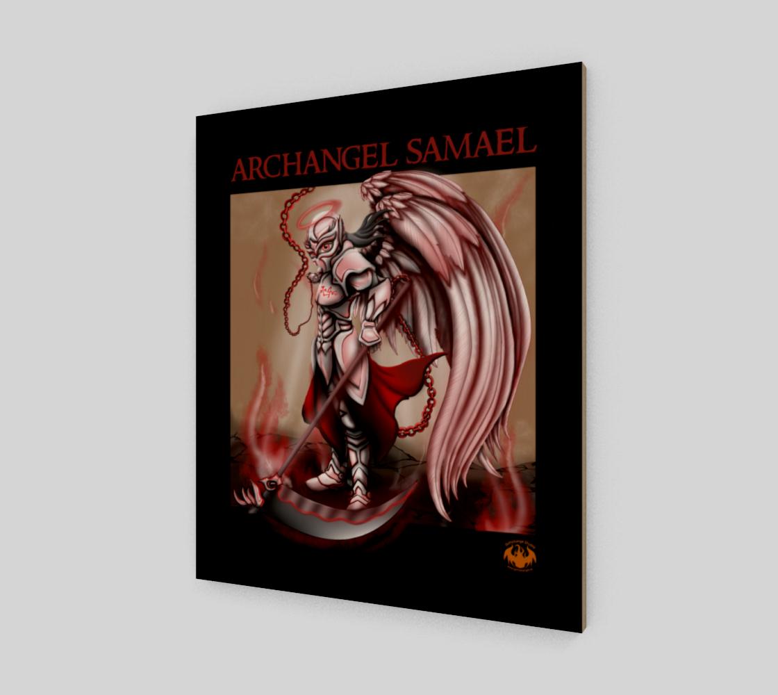 Archangel Samael / Fits Canvas Best preview #2