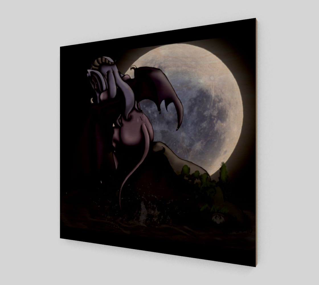 Seryhon on a Rock / Canvas Only preview