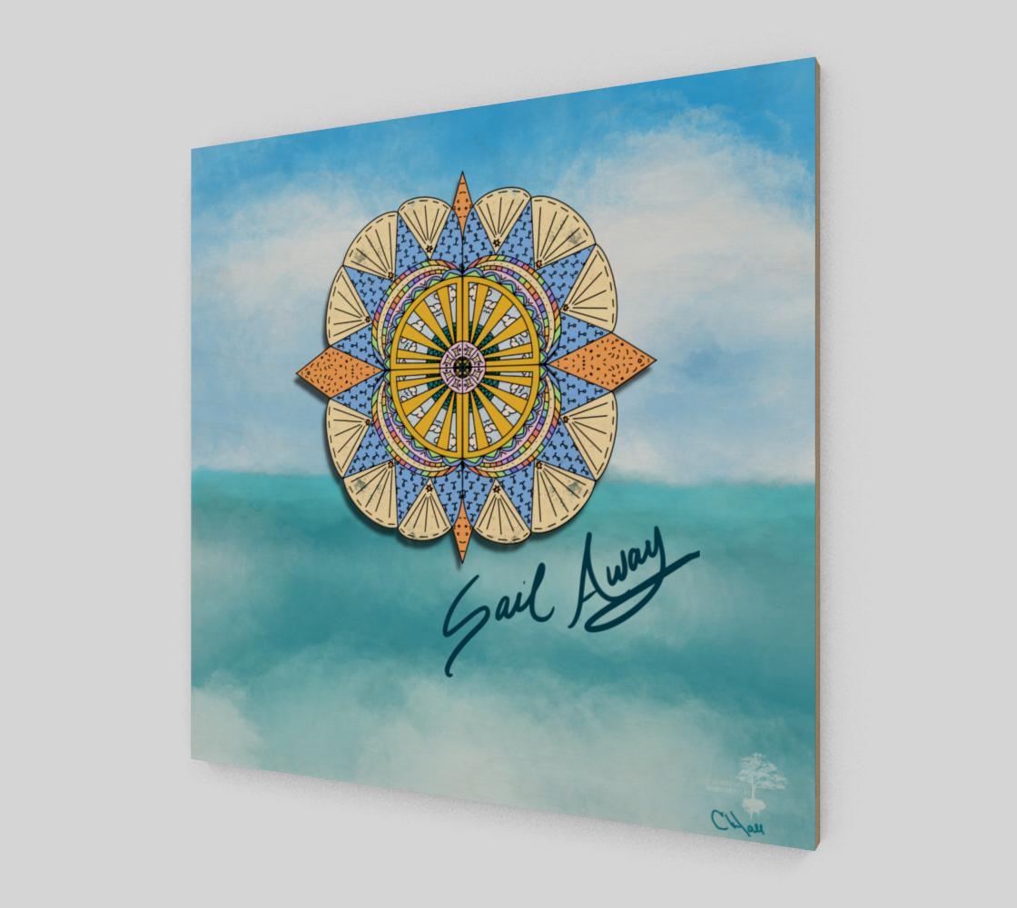 """Sail Away"" Beach Mandala preview #2"