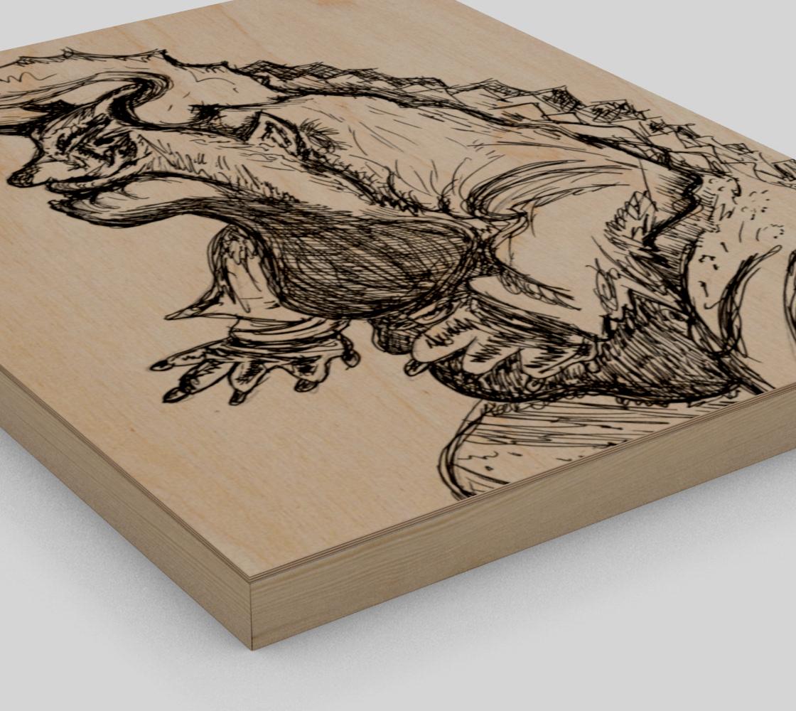 Aperçu de Inked Monster Print #3