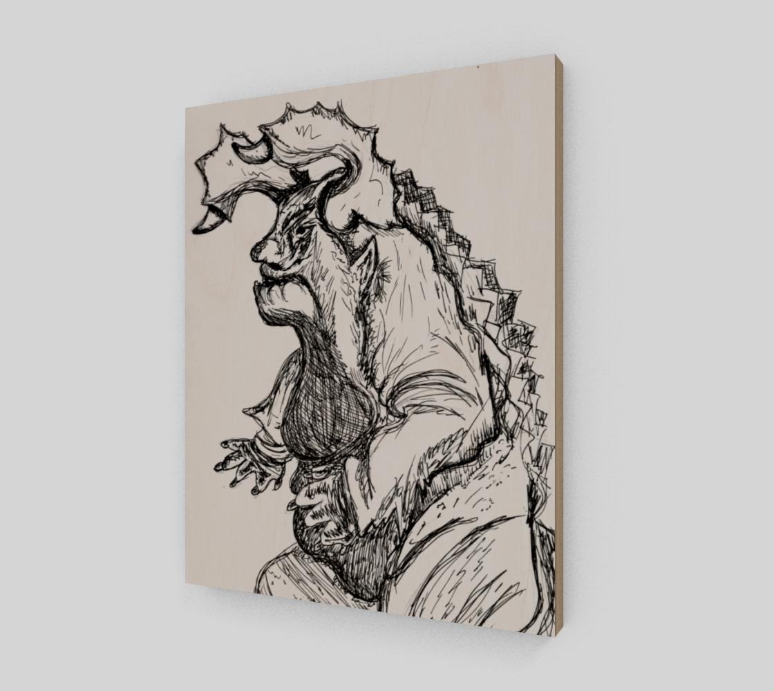 Aperçu de Inked Monster Print #2