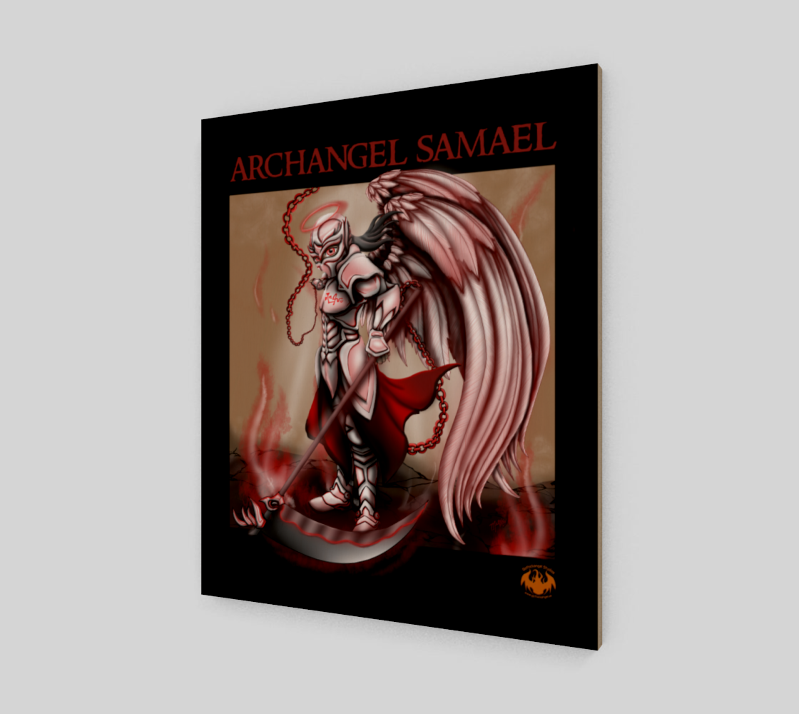 Archangel Samael / Fits Poster, Print Best preview #2