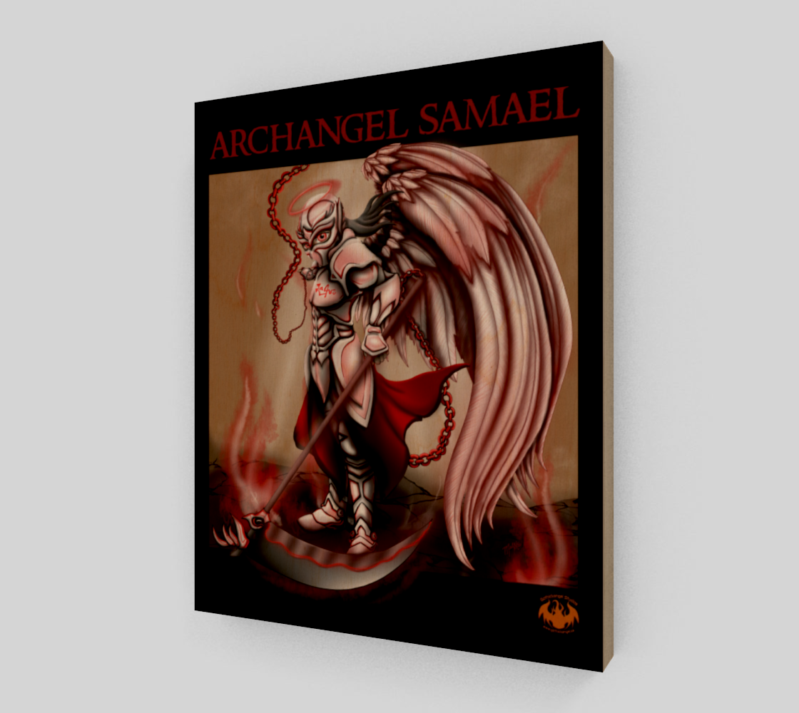 Archangel Samael / Smaller Poster, Print Option preview