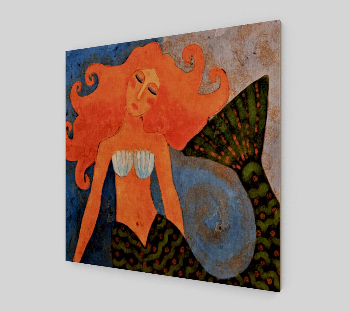 Aperçu de Lovely Mermaid Abstract Digital Painting