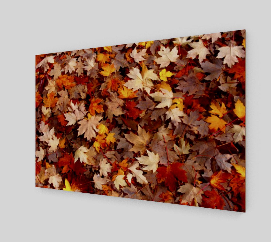 Aperçu de Tapis de feuilles d'érable     Maple Leaf Carpet #2