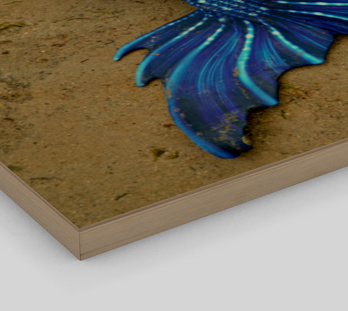 Stretched out Blue Mermaid preview #3