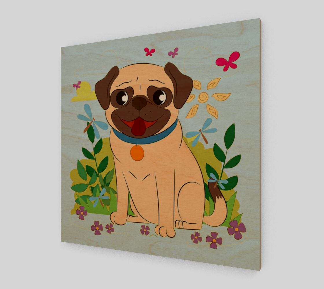 Spring Pug preview