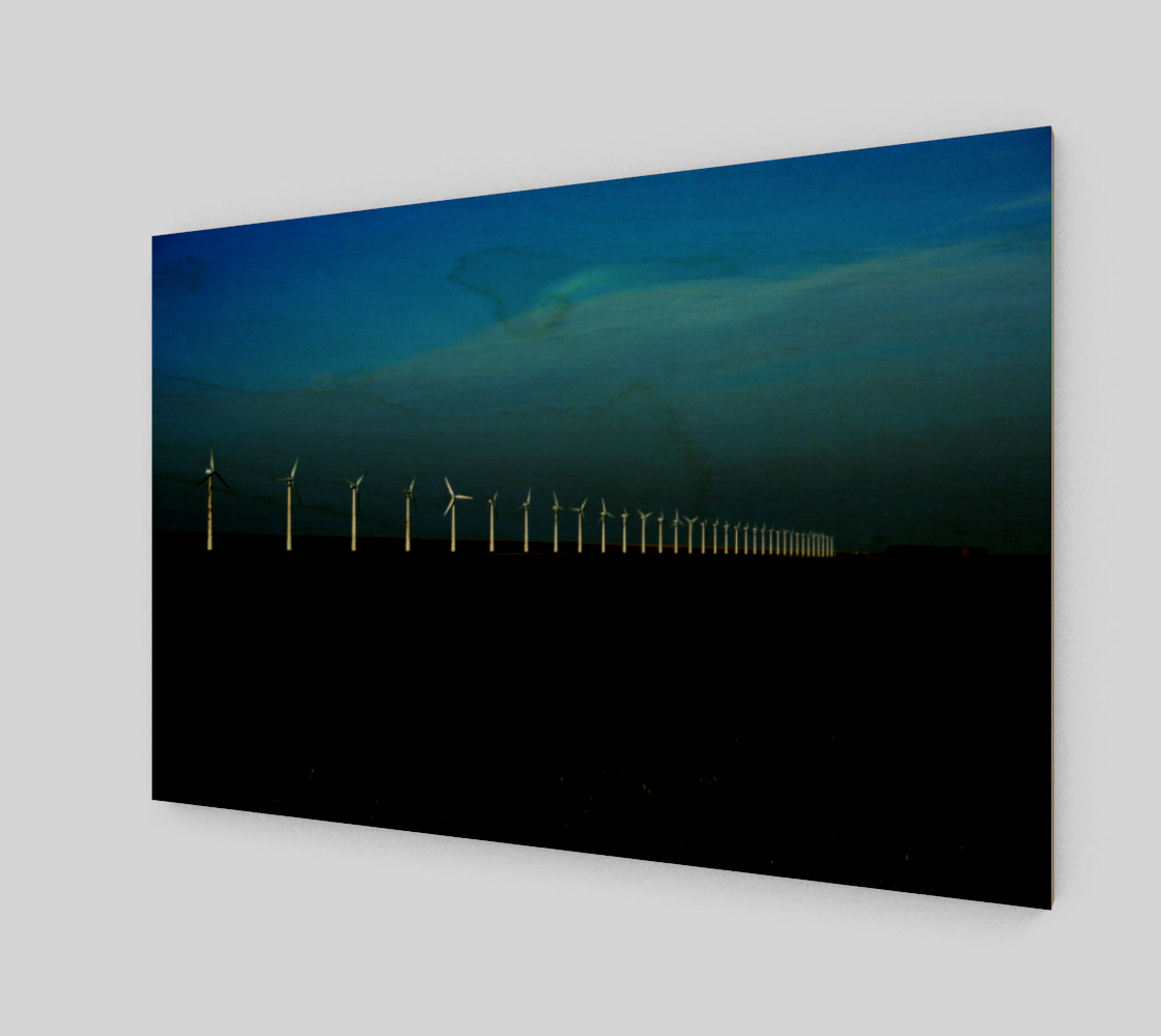 Windfarm Acrylic Print preview