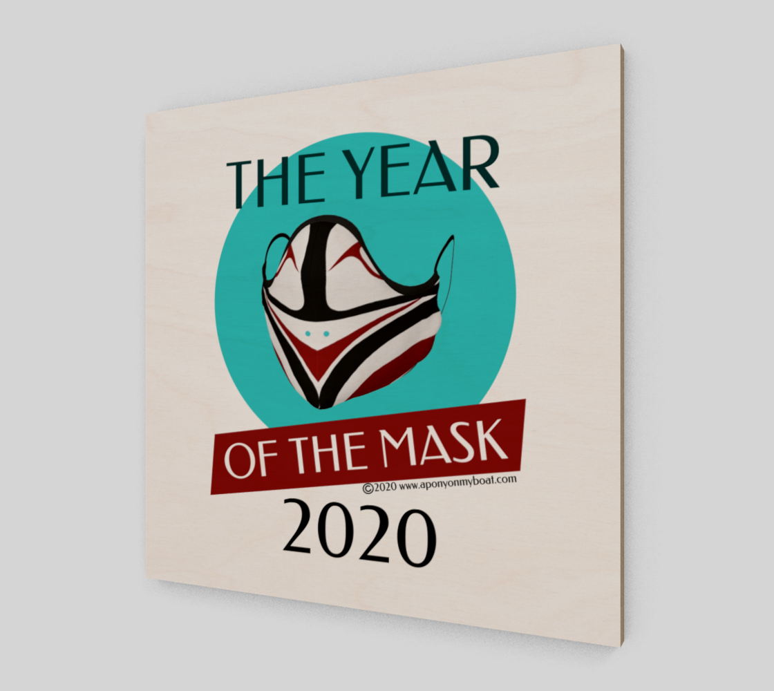 The Year of The Mask Wall Art Print & Poster preview #2