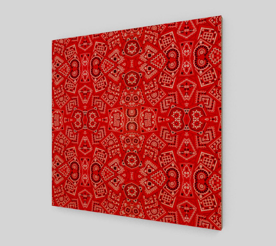 Aperçu de Red Bandanna Pattern