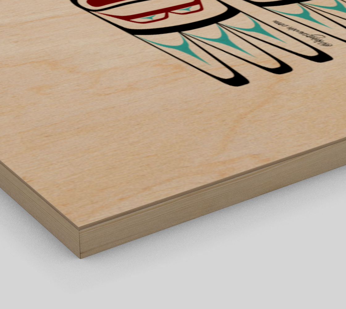 Eagle Print Pacific Northwest Native American Art preview #3