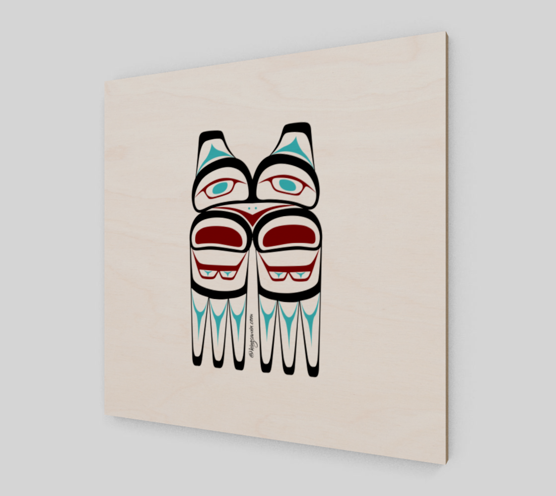 Eagle Print Pacific Northwest Native American Art preview #2
