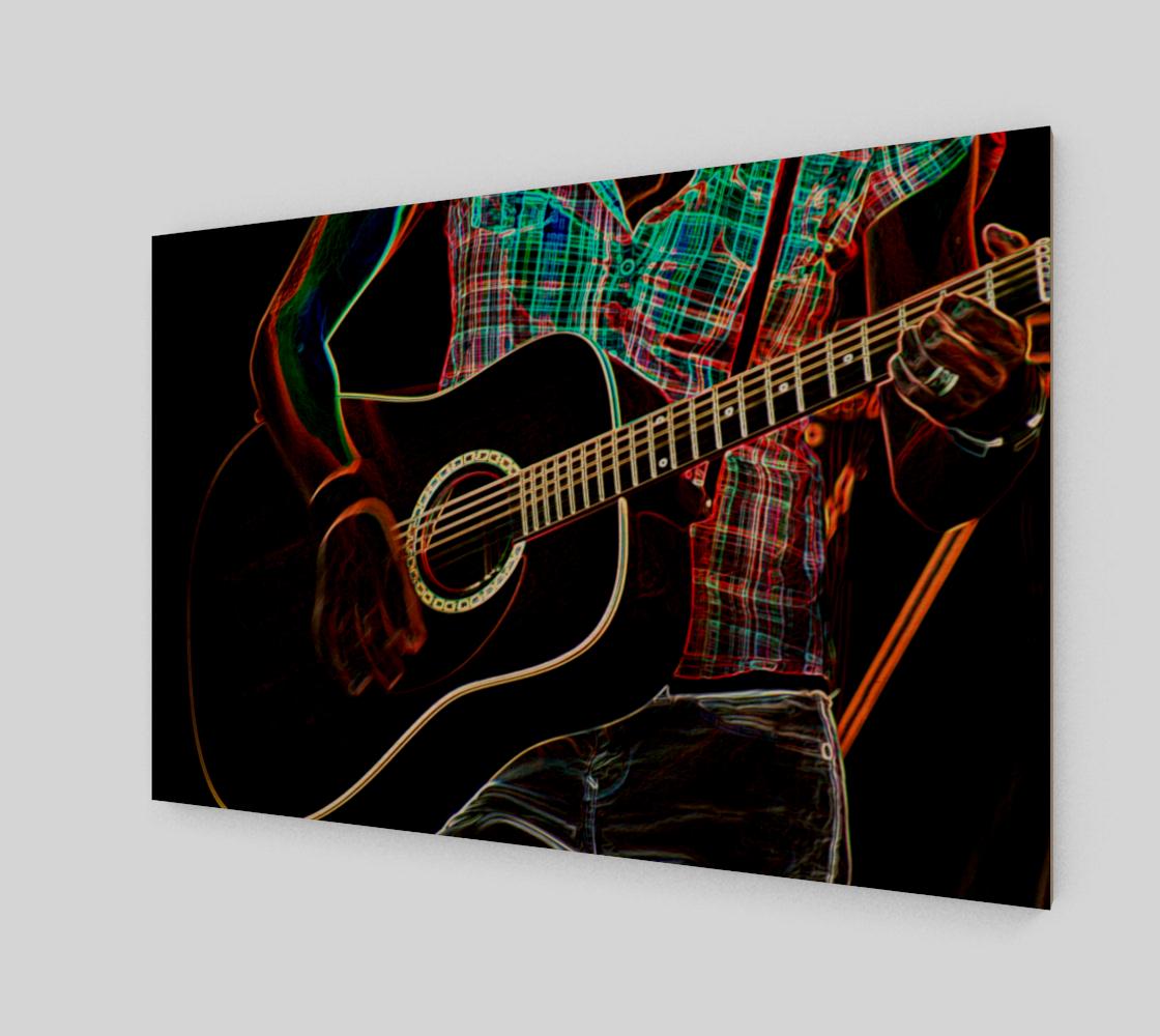 Guitar 1 Poster Print preview