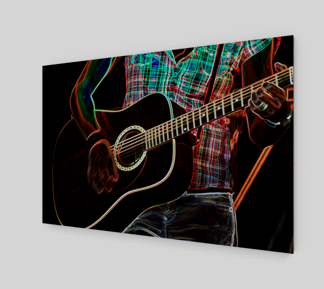Guitar 1 Art Print preview #2