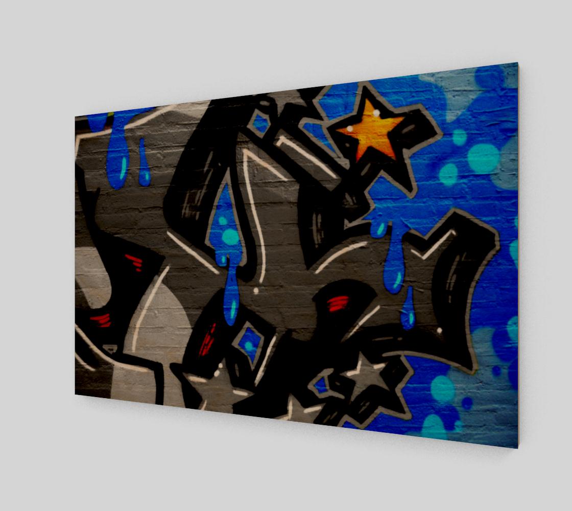 Graffiti 3 Art Print preview