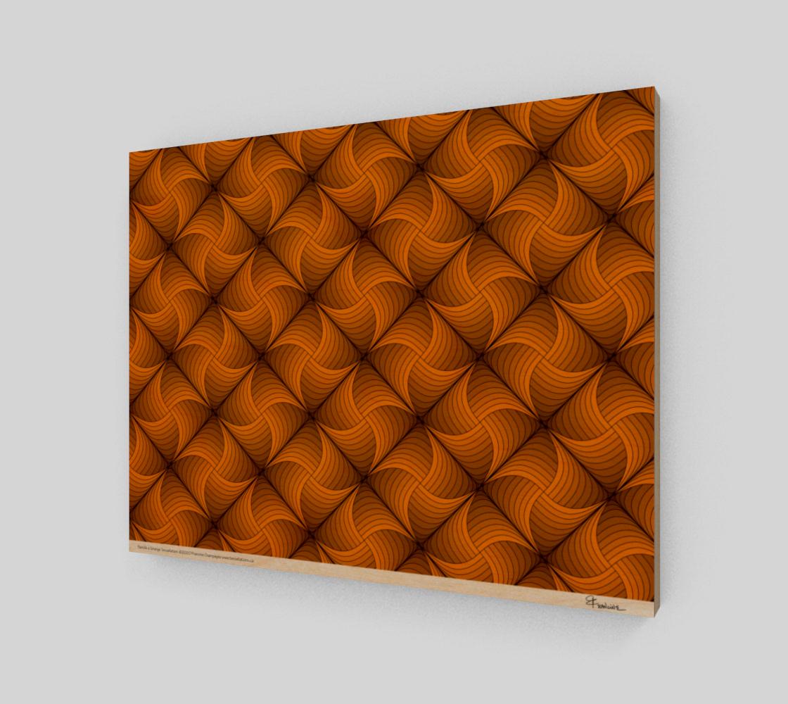 Pastille à l'orange, a tessellation by Francine Champagne preview