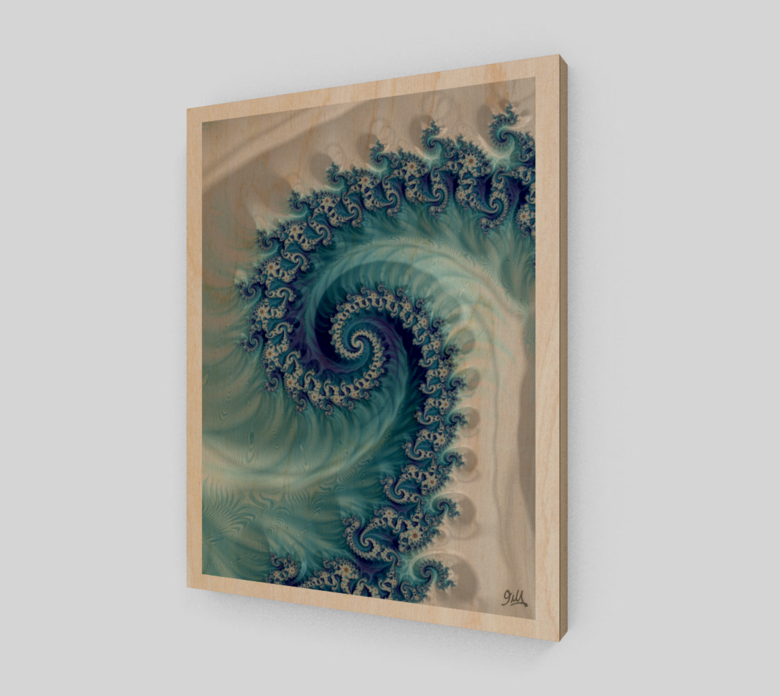 Sound of Seashell 16x20 Art Print  preview
