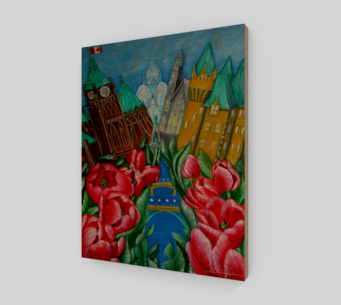 11X14 Red Tulips - Pride of Ottawa preview