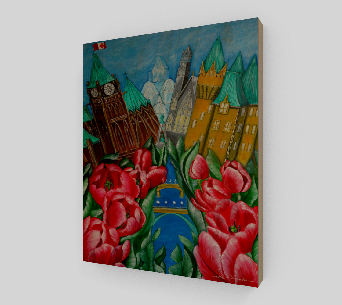 8X10 Red Tulips - Pride of Ottawa preview