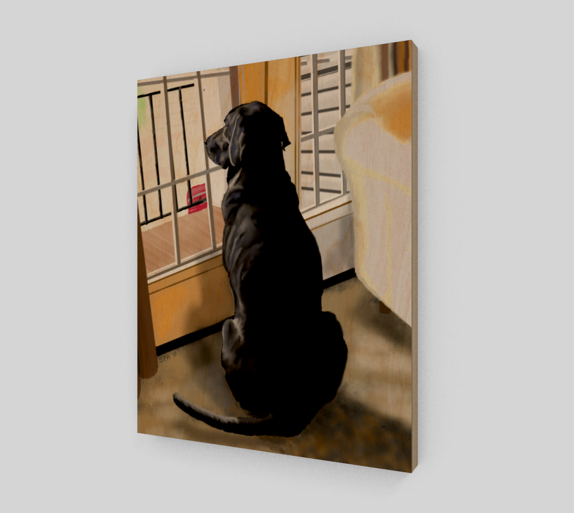 Black Lab Dog preview