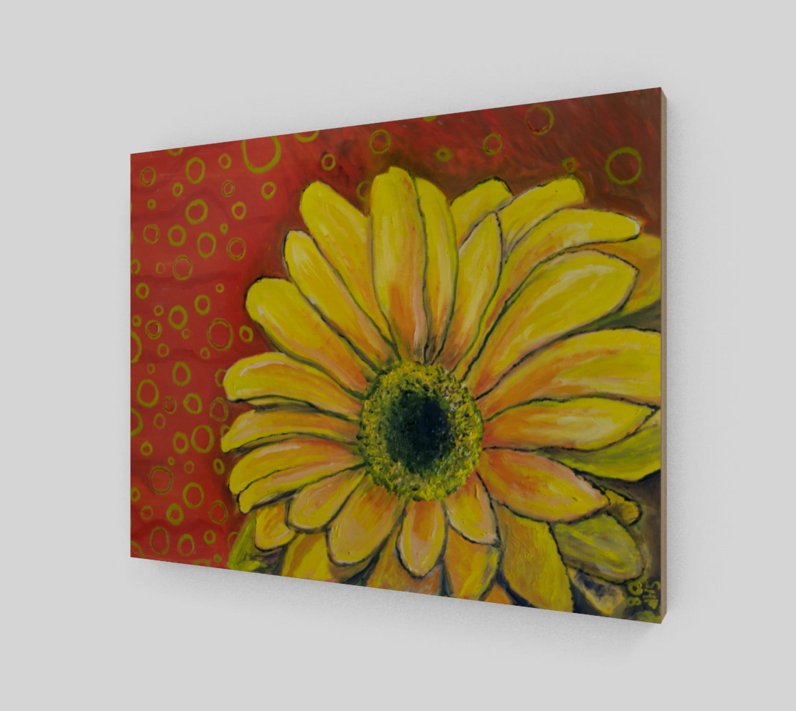 Yellow Gerber Daisy preview #2