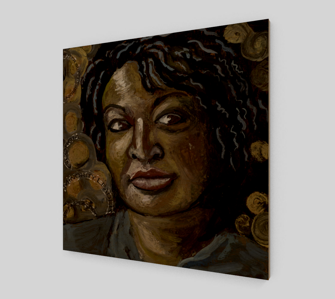 Stacey Abrams print preview