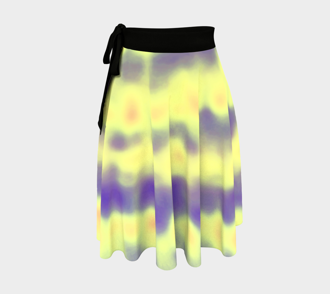 solar flare wrap skirt preview