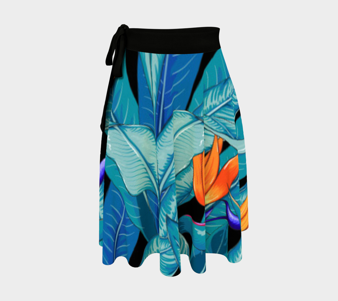 Tropical Exotic Abstract Floral preview