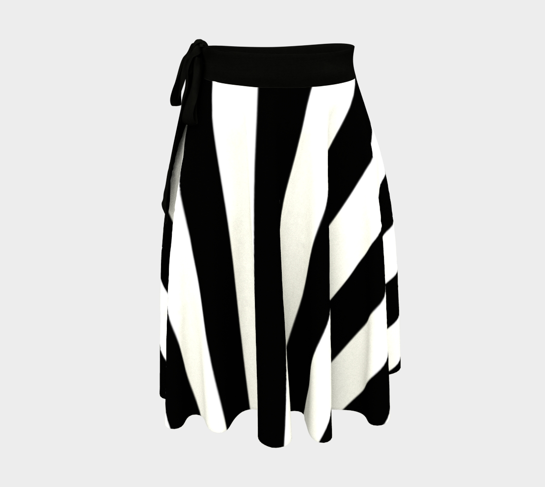 Fairlings Delight's Black and White Wrap Skirt Collection 53086O7 preview