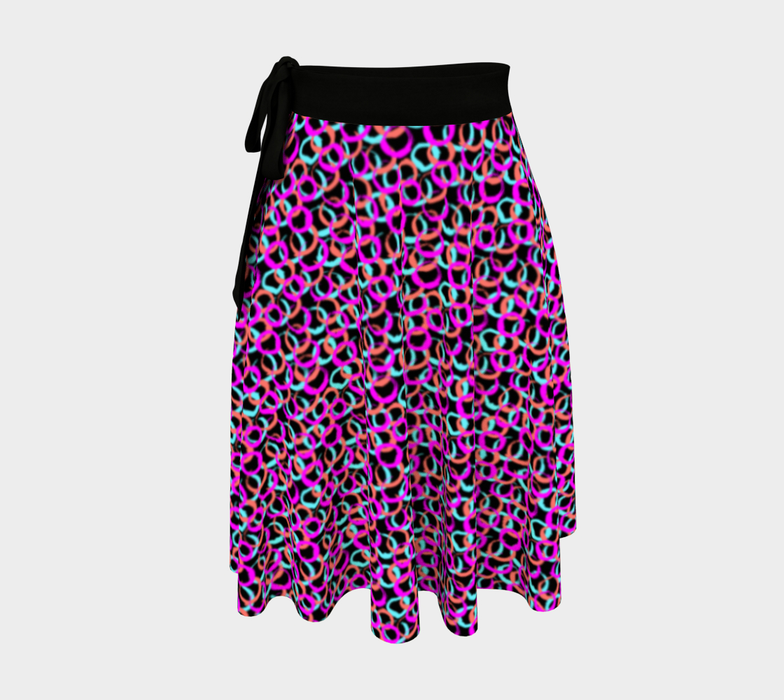 Hoops and Loops Wrap Skirt preview