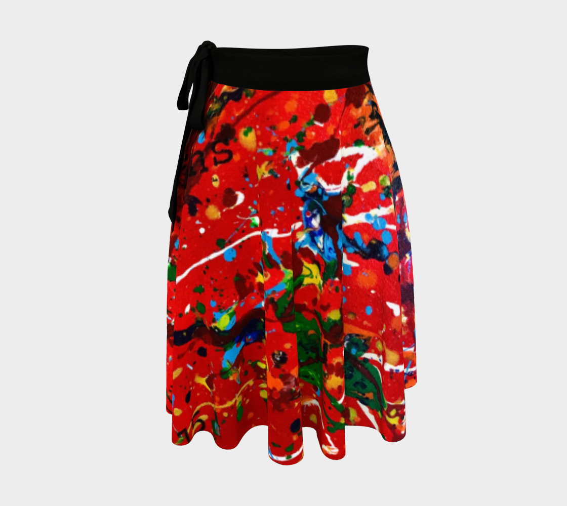 CR Love Wins Wrap Skirt preview