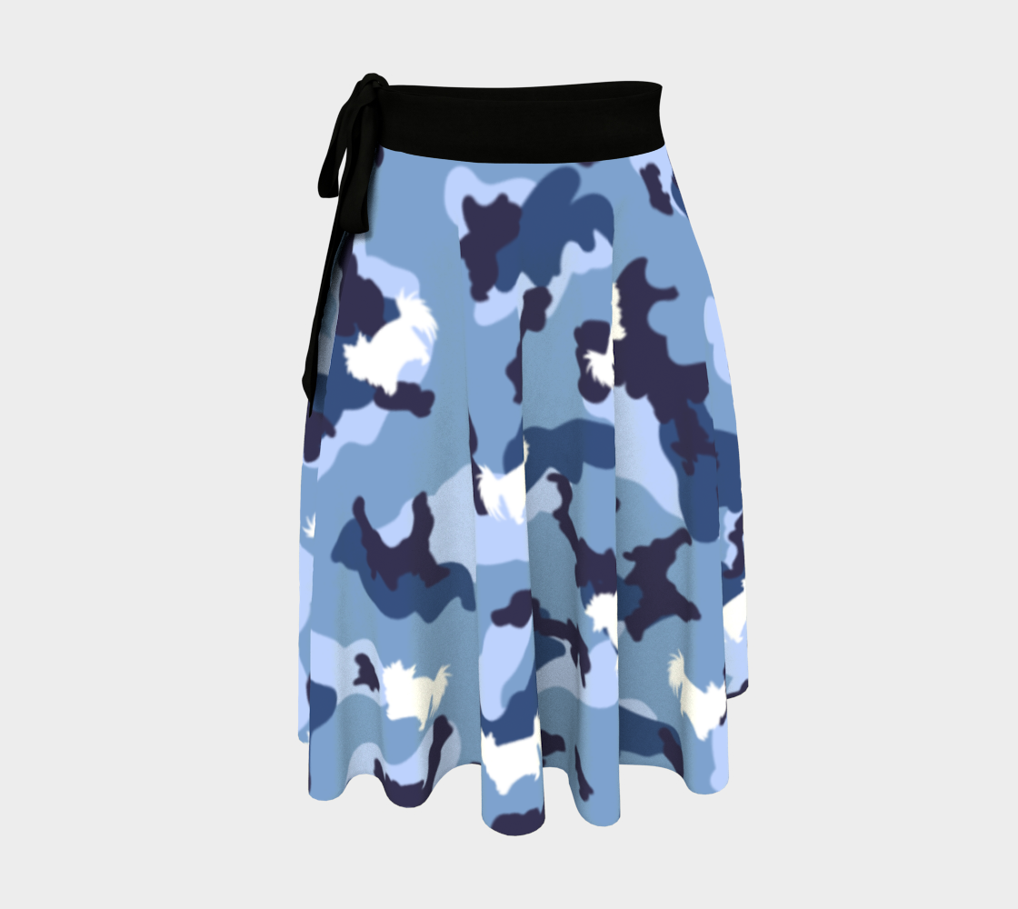 Aperçu de Bark'tic Eevee Camo Wrap Skirt