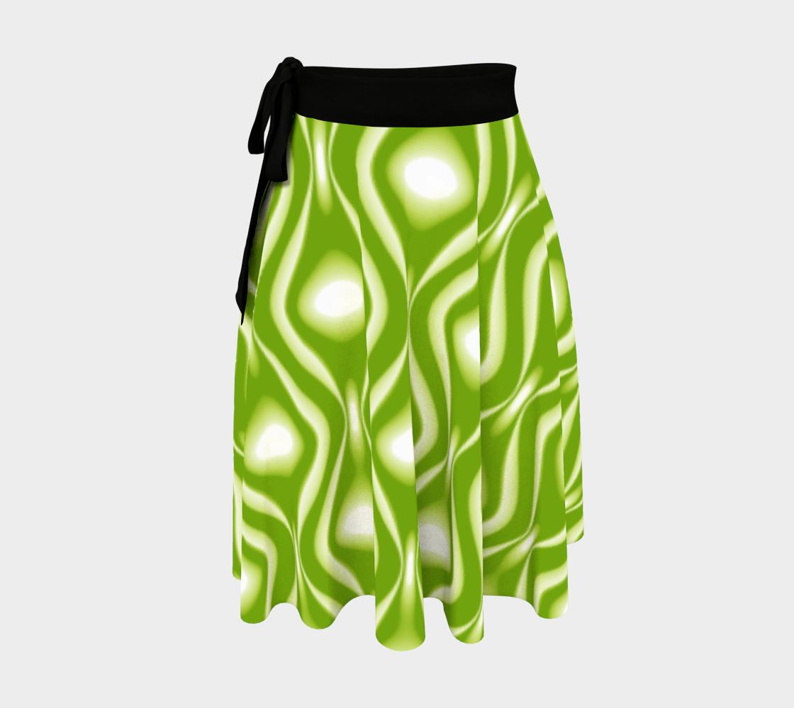 Retro Flow Green Pattern preview
