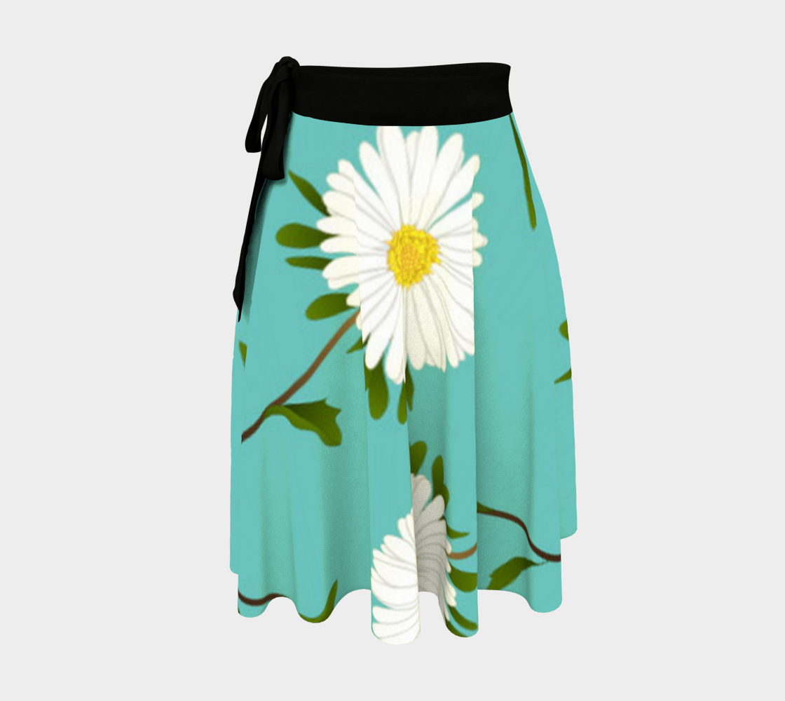 Darling Daisies Wrap Skirt preview