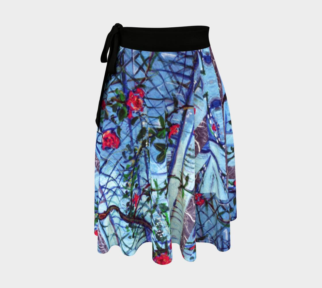 Roses & Brambles Trellis-Wrap Skirt preview
